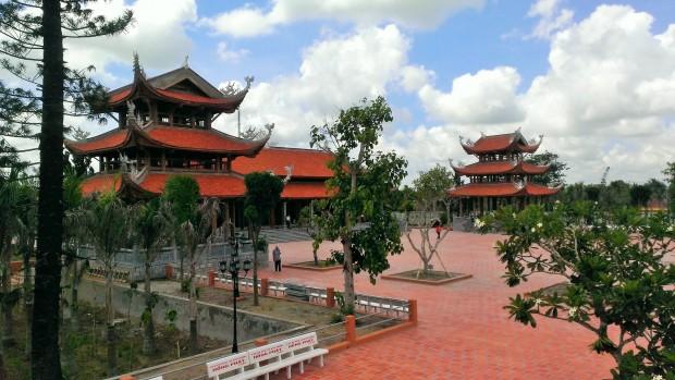 Lầu chuông Thiền viện Trúc Lâm Phương Nam.