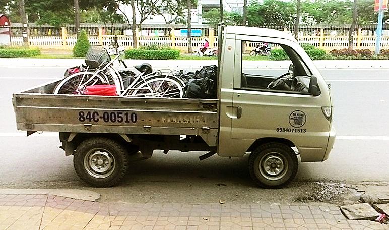 Ngọc Phú: Xe tải chở thuê Cần Thơ