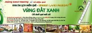 Khai trương Khu Du lịch miền quê Vùng Đất Xanh - Green Land Resort