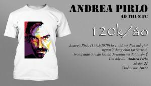 Áo thun Andrea Pirlo