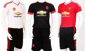Áo đá banh Cần Thơ - Manchester United - MU