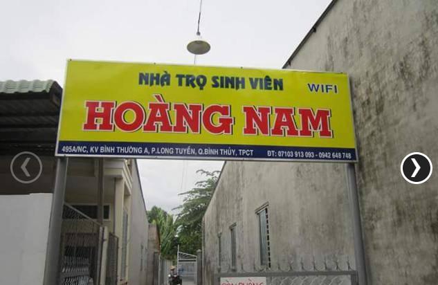 Nhà Trọ Hoàng Nam đường Nguyễn Văn Trường