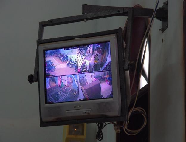 Nhà trọ có camera an ninh quan sát, đảm bảo an toàn cho khách trọ.
