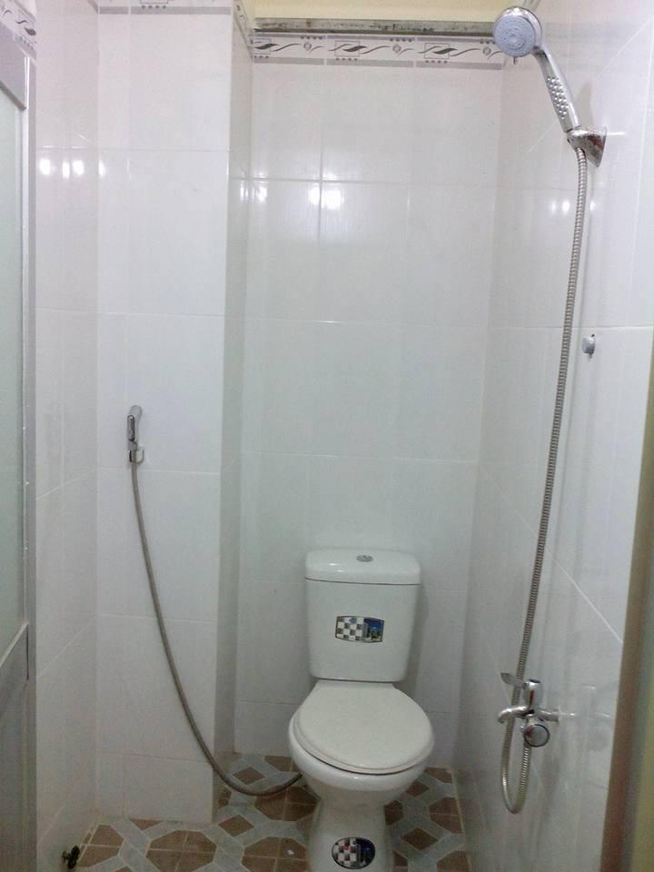 Nhà trọ có nhà vệ sinh trong tiện lợi