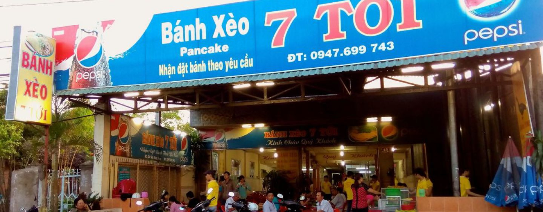 Bánh xèo 7 Tới - Cái Sơn Hàng Bàng