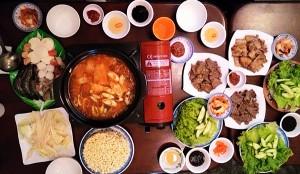 Quán ăn Hàn Quốc Sam