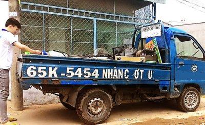 Xe tải chở thuê Cần Thơ - Xe tải dọn trọ Cần Thơ