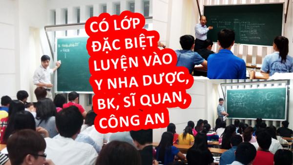 Cơ sở dạy thêm - Trung tâm luyện thi đại học Đồng Tiến