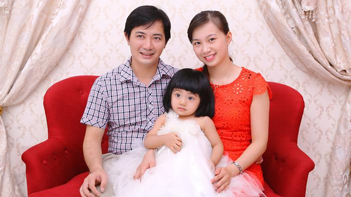 Chụp ảnh gia đình Cần Thơ - Duyên Dáng Studio
