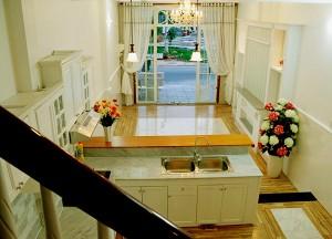 Dãy 04 căn nhà rất đẹp 2.4 tỷ đối diện chợ An Khánh.