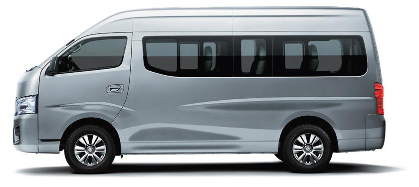 Nissan NV350 Urvan là mẫu minibus 16 chỗ