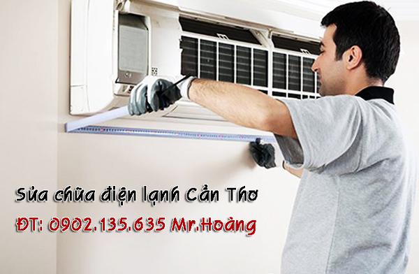 Bảo trì, vệ sinh, sửa chữa máy lạnh tận nhà ở Cần Thơ.