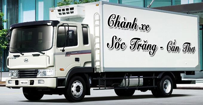 Chành xe Sóc Trăng - Cần Thơ - Vận tải, gửi hàng Cần Thơ Sóc Trăng