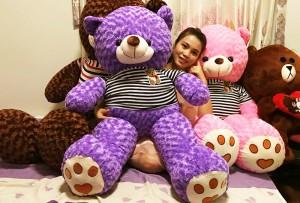 Gấu bông Sa Đéc - Tặng quà thay bạn - Gấu Teddy Đồng Tháp