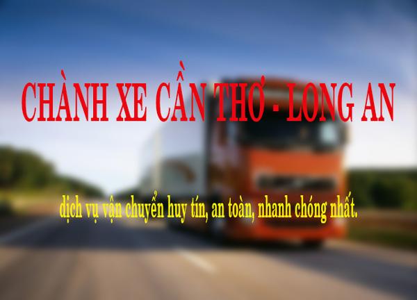 Chành xe Cần Thơ - Long An