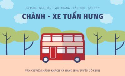 Tổng đài đặt vé - Số điện thoại xe Tuấn Hưng | Tuyến Cà Mau - Sài Gòn