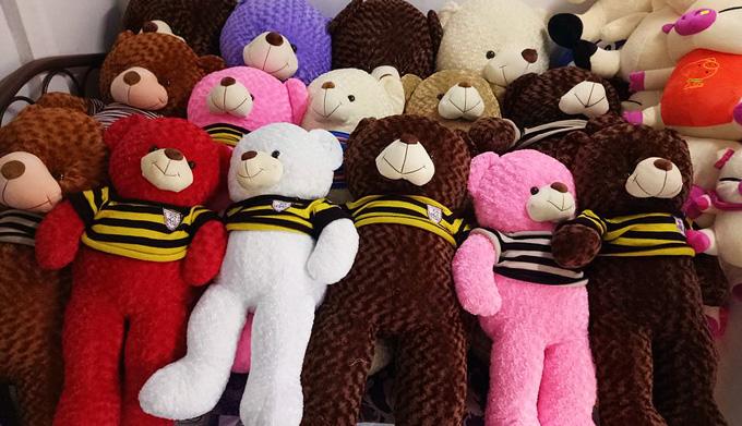 Gấu bông Sóc Trăng – Tặng quà thay bạn