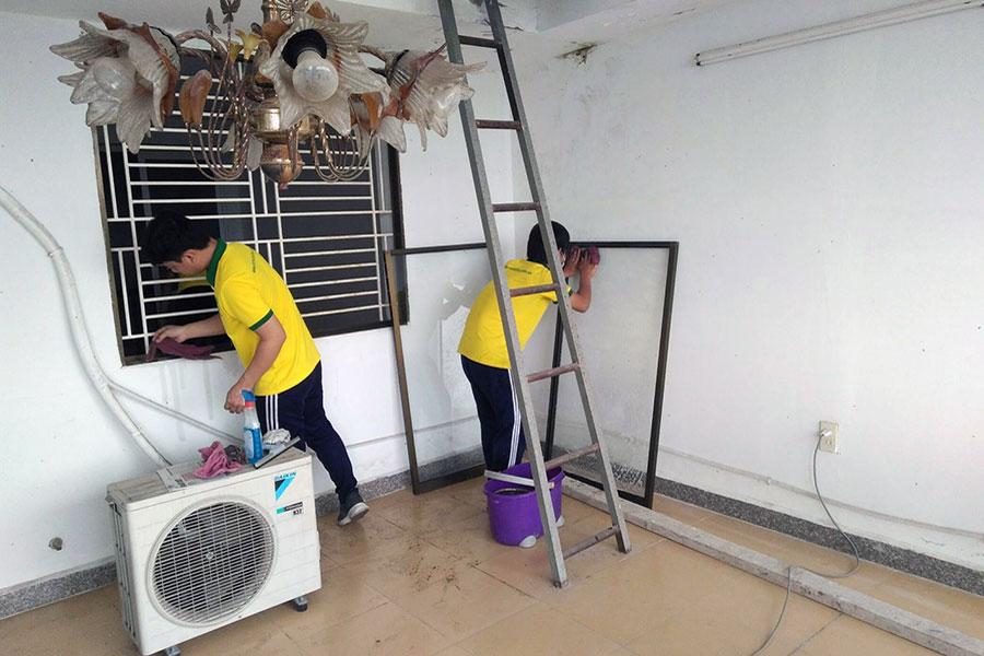 Dịch vụ vệ sinh sau xây dựng Cần Thơ