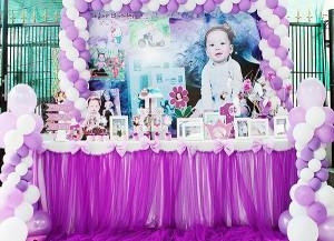 Dịch vụ trang trí tiệc sinh nhật thôi nôi Cần Thơ