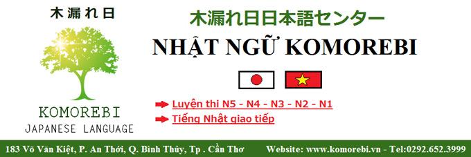 Trung tâm giảng dạy tiếng Nhật Cần Thơ - Nhật ngữ Komorebi