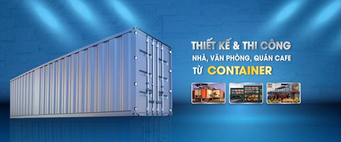 Chuyên thiết kế thi công container theo yêu cầu