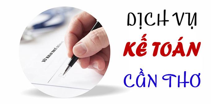 Dịch vụ Kế toán Cần Thơ - Báo cáo thuế trọn gói