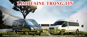 Xe khách Long Xuyên - Sài Gòn Trọng Tín