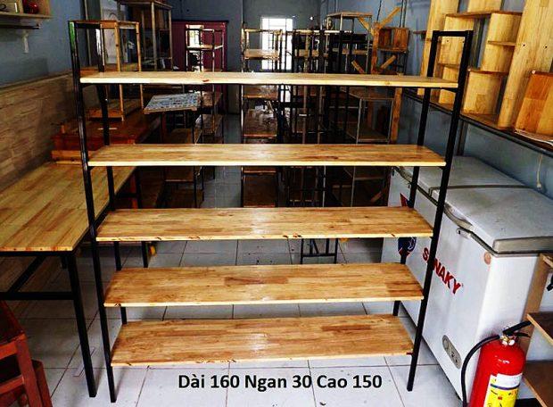 Kê gỗ 5 tầng 160 x 30 x 150 cm