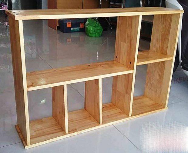 Kệ gỗ để sách 90 x 60 x 20 cm