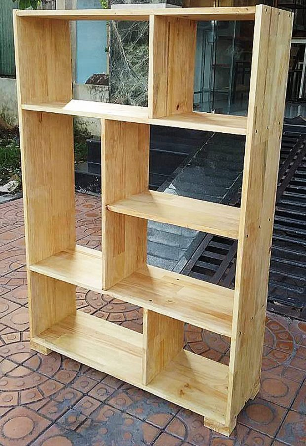 Kệ gỗ thông 120 x 70 x 30 cm