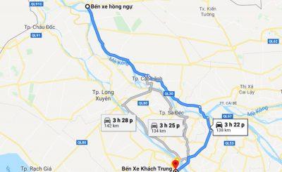 Xe khách Cô Minh Đồng Tháp