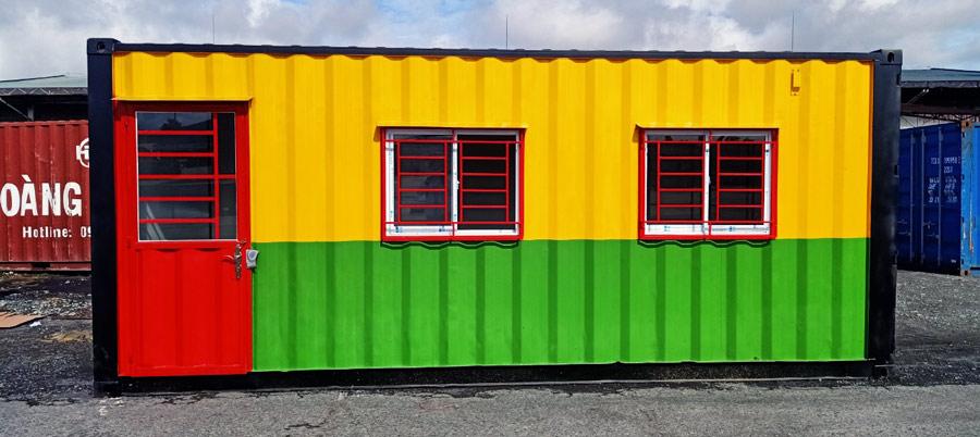 Chuyên mua bán và cho thuê container văn phòng tại Cà Mau