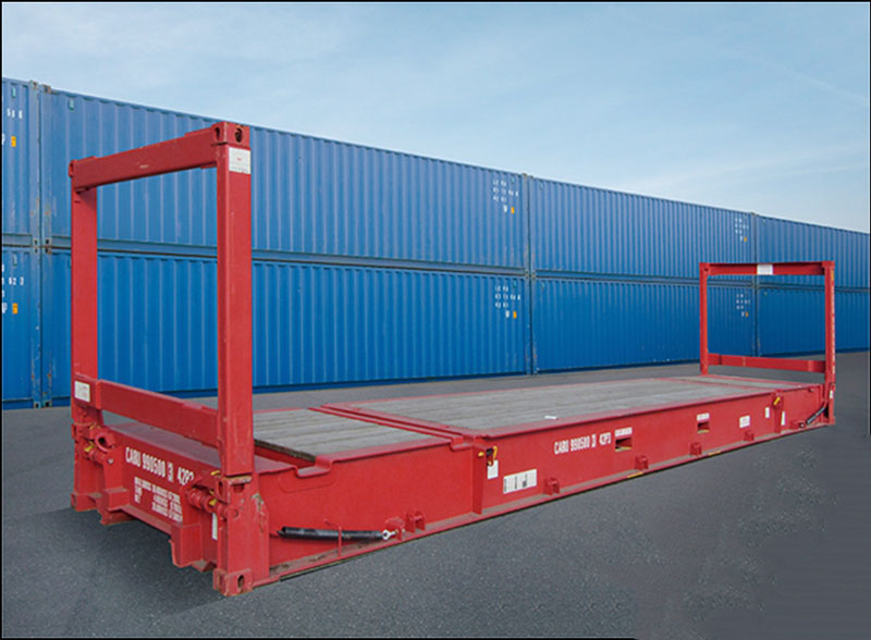 Container mặt phẳng - Container Cà Mau