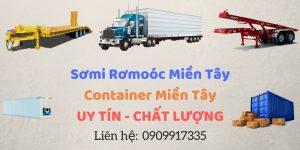 Tân Thanh Container - Sơ Mi Rơ Mooc Miền Tây