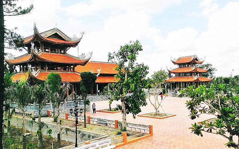Du lịch Cần Thơ - Thiền Viện Trúc Lâm Phương Nam