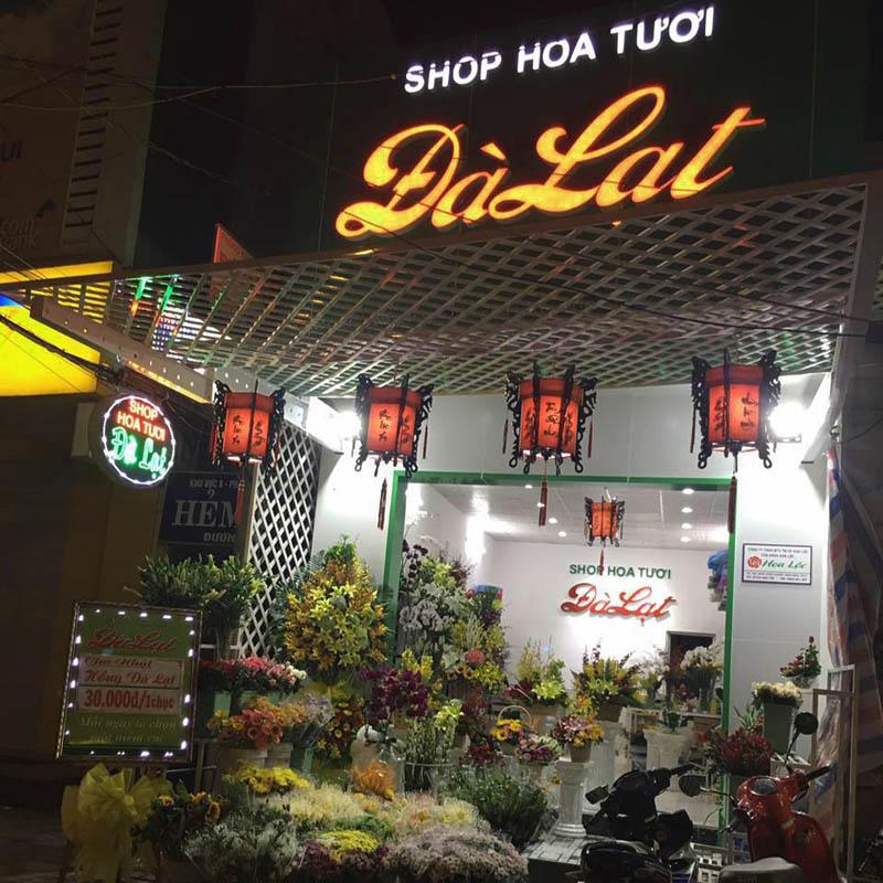Shop hoa tươi Đà Lạt tại Cần Thơ