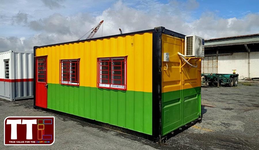 1 văn phòng container di động thuận tiện