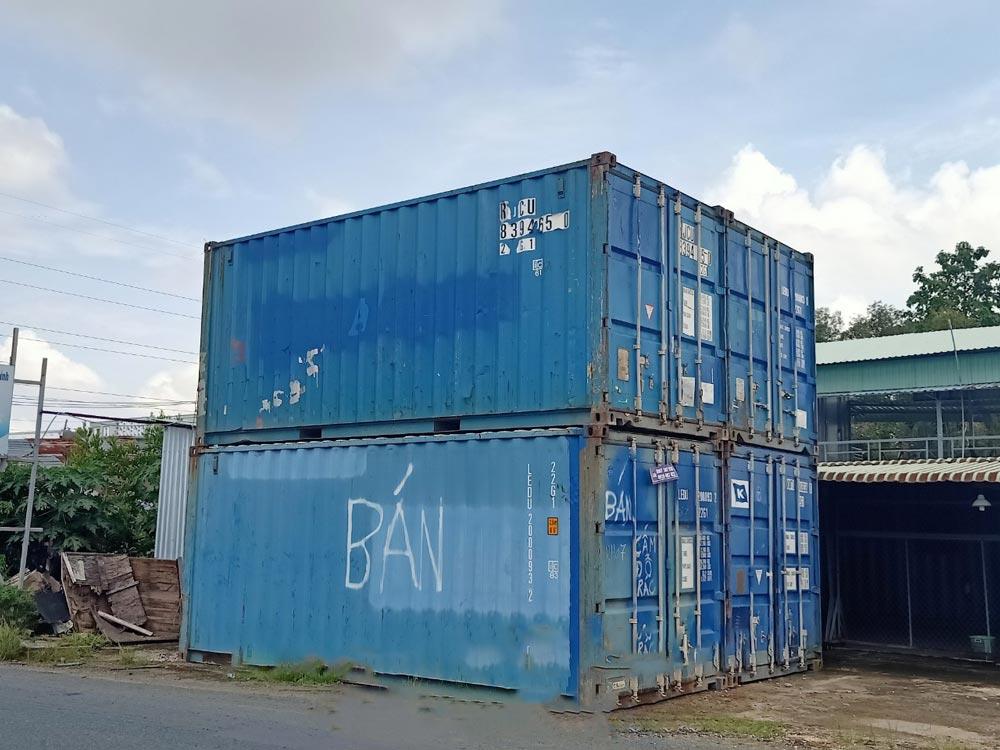 Mua container cũ - đã qua sử dụng tại TTC
