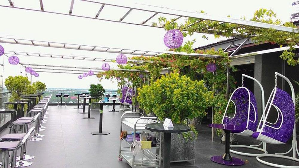 Sky bar Iris ngoài trời - Cafe độc đáo ở Cần Thơ