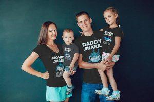 Áo thun gia đình: Thiết kế, in & may theo yêu cầu | Đồng phục Cần Thơ
