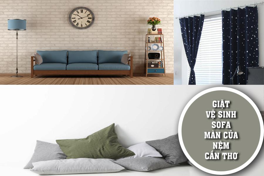 Vệ sinh – Giặt nệm, thảm, ghế sofa, màn cửa
