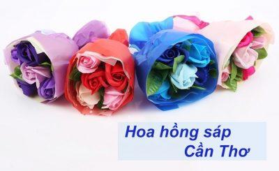 Hoa hồng sáp Cần Thơ
