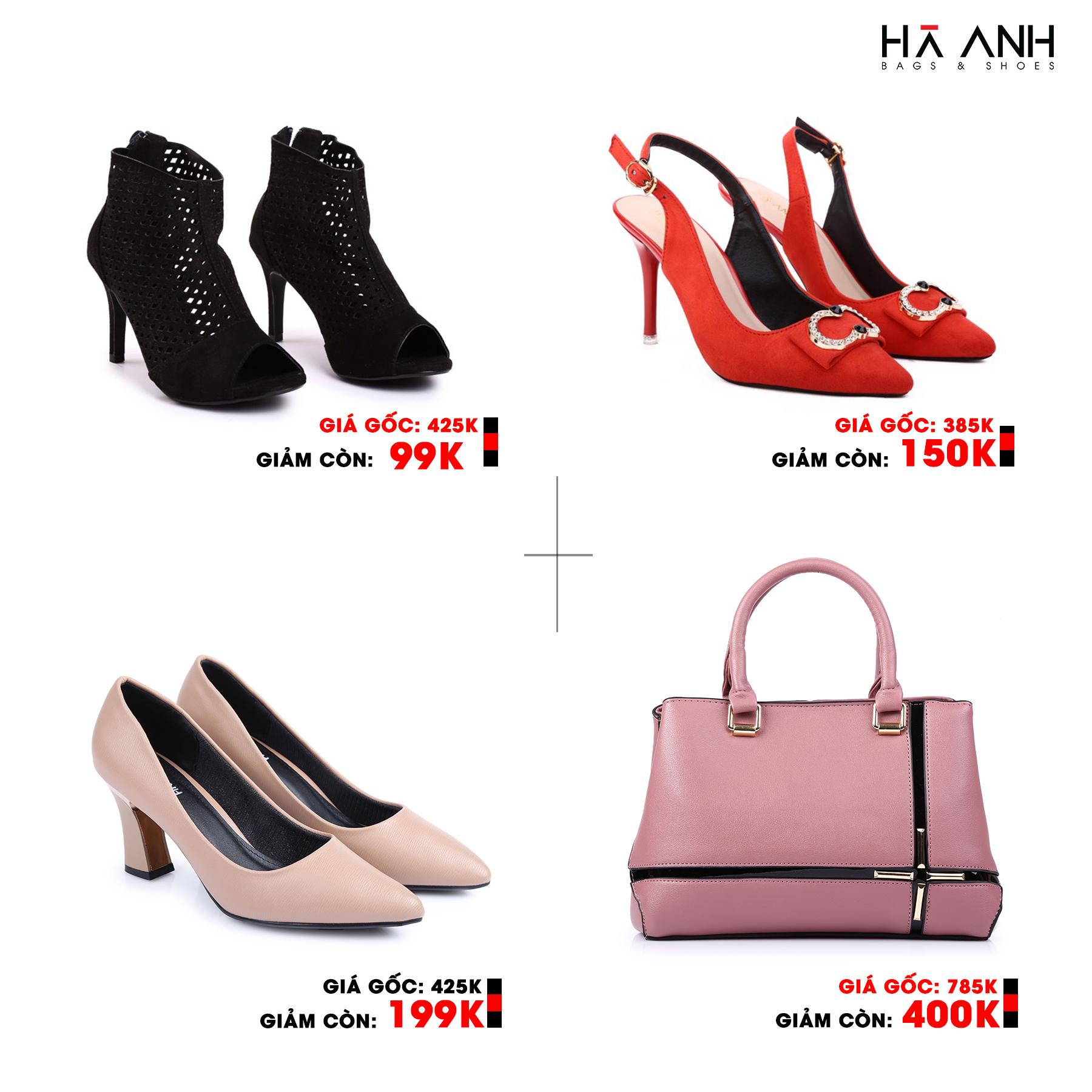 Đồng giá 99K - 150K - 199K các mẫu Giày - Túi thời trang xuất sắc.