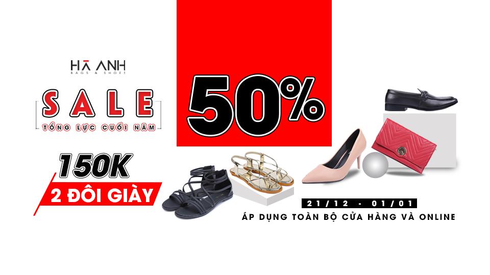Khuyến mãi 50%: Giày Hà Anh Cần Thơ
