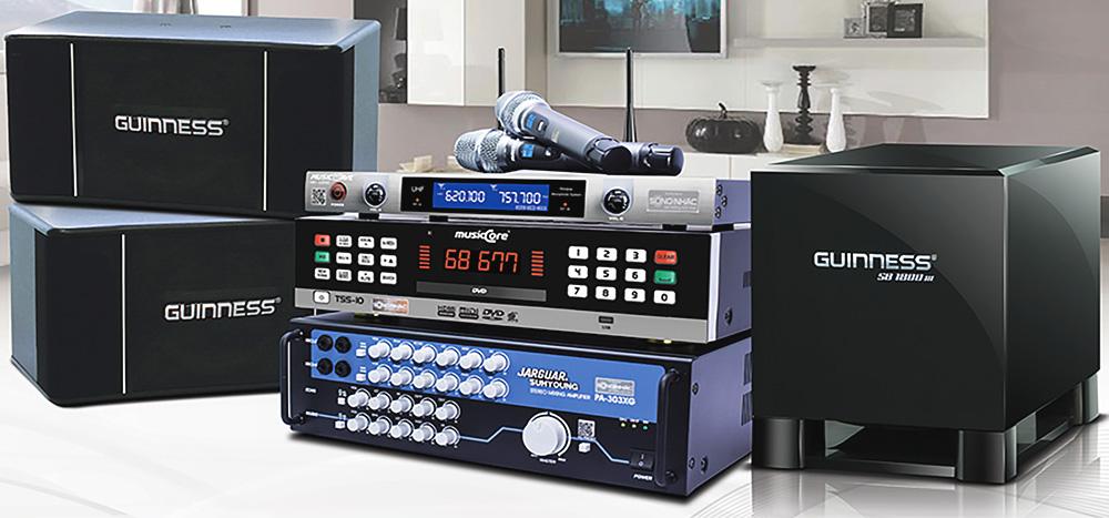 thiết bị âm thanh gia đình