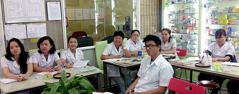 Đào tạo nhân viên bán thuốc