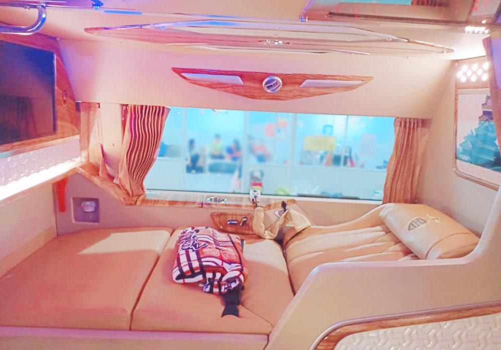 Xe giường nằm Sài Gòn - Bạc Liêu cao cấp