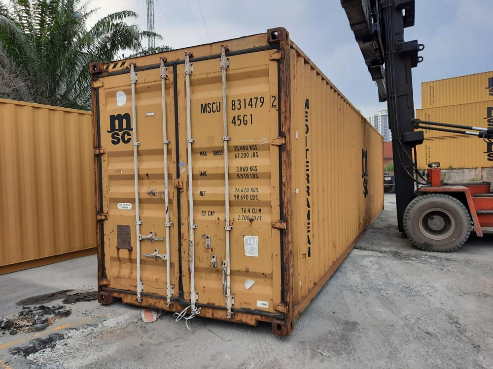 Container khô 40 Feet - Bên ngoài - TTC Container