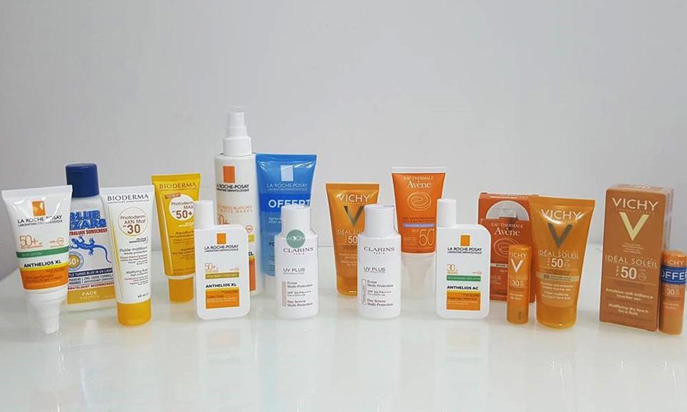 Các loại kem chống nắng - Những lưu ý khi skincare