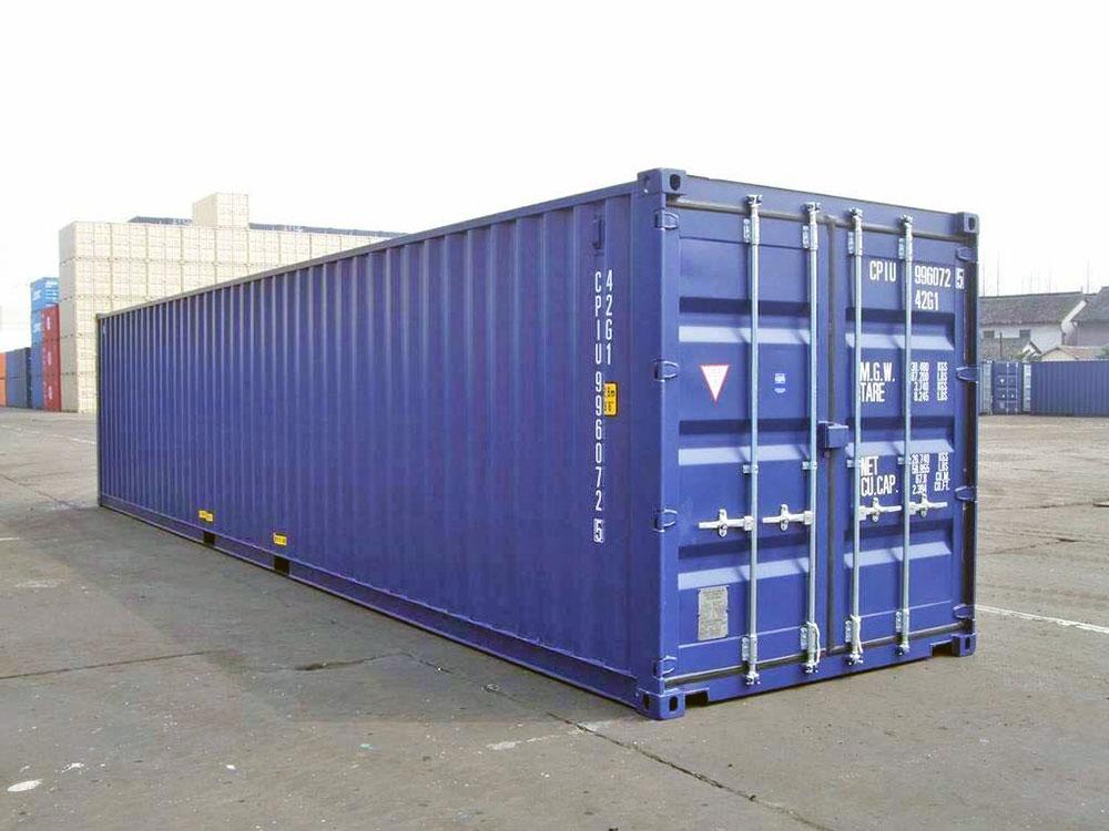 Mua bán Container Miền Tây - Container khô 40 feet